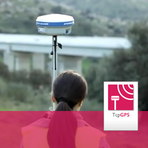 All-in-one solution for surveying and setting-out with GNSS receivers