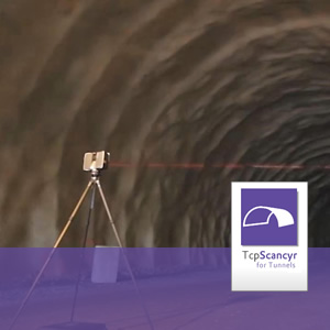 Tunnel sections from 3D scanners