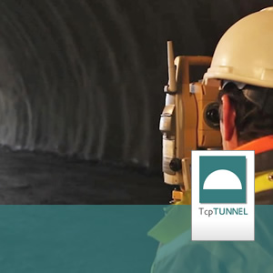 Surveying and tunnel setting-out