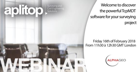 Webinar APLITOP and ALPHAGEO