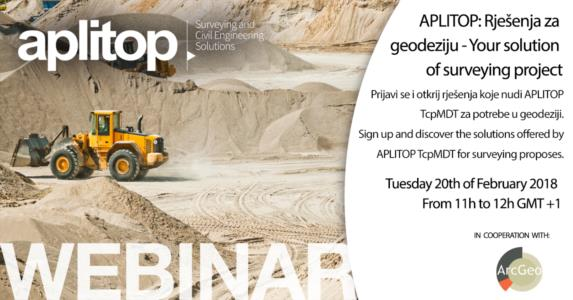 Webinar APLITOP and ARC GEO
