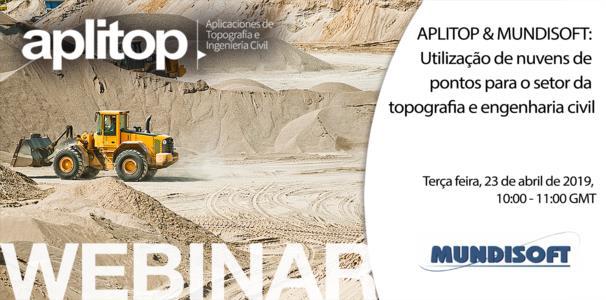 Webinar Aplitop & Mundisoft: Utilización de nubes de puntos para topografía e ingeniería civil