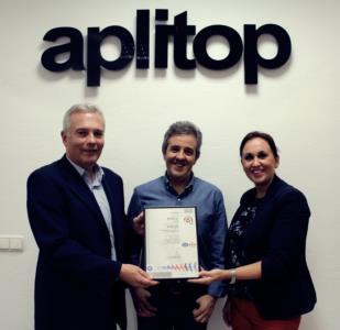APLITOP obtiene la certificación ISO 9001: 2015