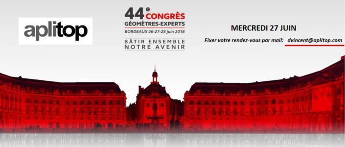 44ème congrés GÉOMÈTRES-EXPERTS
