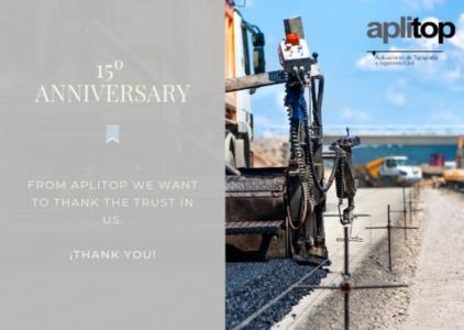 Aplitop celebrates 15 years of business experience