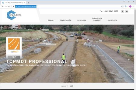 CAD-Pro: nuevo distribuidor en Chile