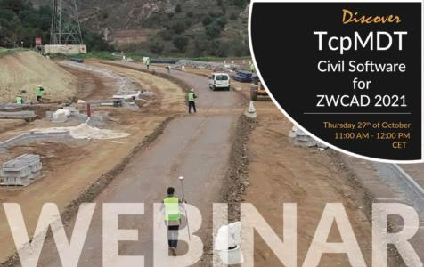 Discover TcpMDT Civil Software for ZWCAD2021