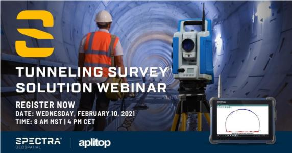 Tunneling Survey Solution Webinar