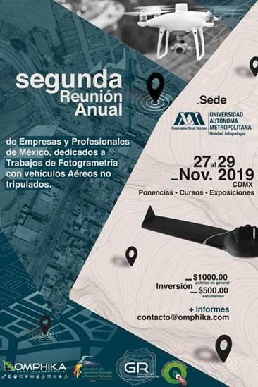 APLITOP en la 2ª Reunión Anual de Empresas y Profesionales de México, dedicados a Trabajos de Fotogrametría con Vehículos Aéreos no Tripulados