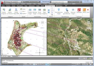Photographies aériennes et Cartes scannées