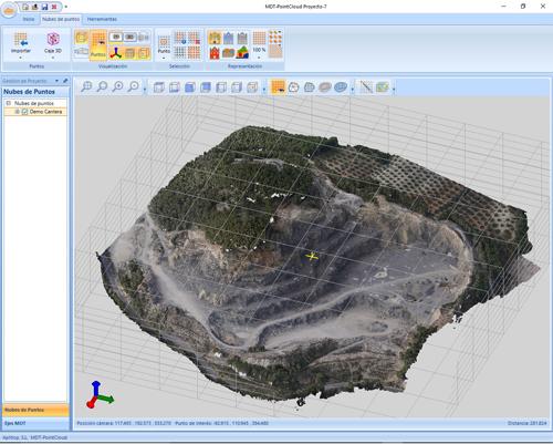 Explotación de resultados de PhotoScan con TcpMDT, MDT PointCloud y TcpStereo