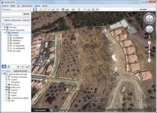 Exportation vers Google Earth