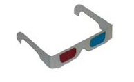 Sistema pasivo con gafas de filtro
