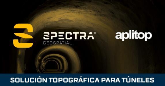 Aplitop y Spectra Geospatial Colaboran en una Solución Topográfica para Túneles
