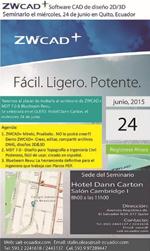Seminario organizado por ZWSOFT+ MDT 7.0